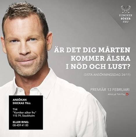 TV4 nedringda av folk som vill dejta Mårten