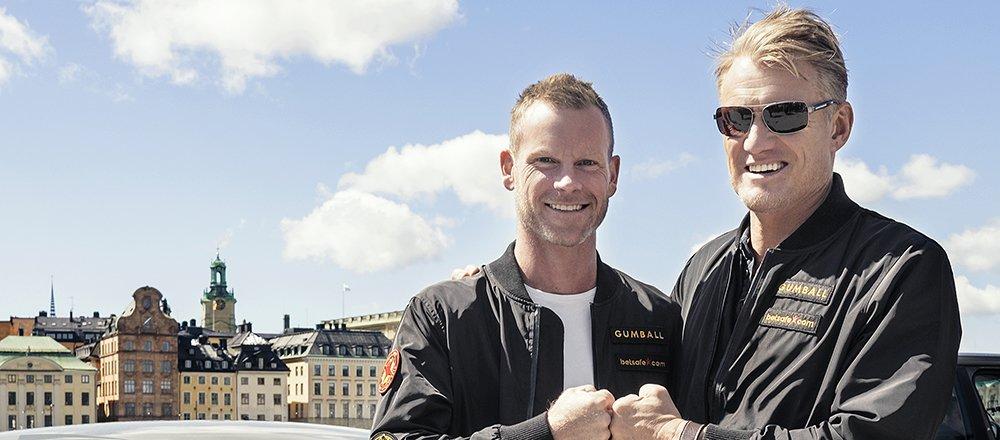 Mårten programledare för Gumball 3000 på TV6!