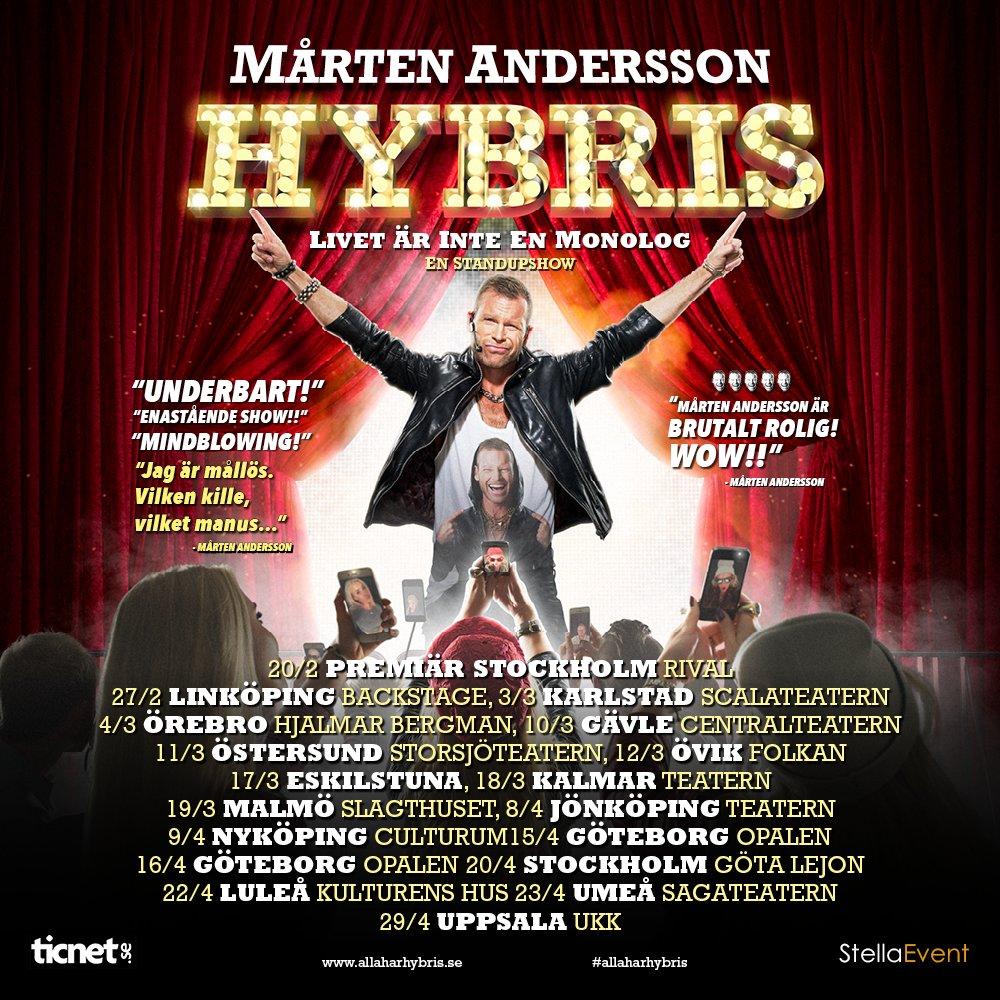 Trailer för megasuccén HYBRIS!