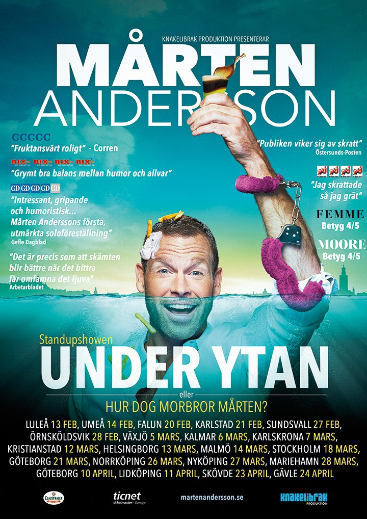 UNDER YTAN – poster 2015